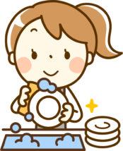 皿洗い,英語
